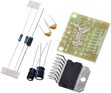 ZhaoXin Chen 328に基づく4.9 / 5定格電子DIYキット15ワット1セットTDA7297アンプボードのスペアパーツ直流12Vグレード2.0デュアルオーディオエンコーディング