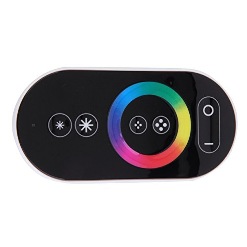 DC 12-24V 18A Wireless LED Controller RF Touch Panel LED Dimmer RGB Remote Controller for RGB LED STRIP LIGHT by Detectoy (Image #5)