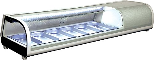 Display Sushi Case (Omcan 39998 Commercial Restaurant 60-inch 2.12 Cu. Ft. Sushi Show Case)