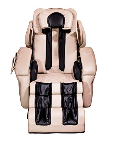 Luraco i7 Plus iRobotics 3D Medical Massage Chair with Zero Gravity, Cream