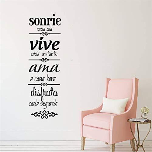 Zhuhuimin Vinilo en español Normas de la casa Mural ...