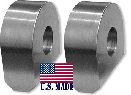 BILLET4X4 U.S. Made Weld-On Shackle Mounts - Laser-Cut (Pair) (Off-Road Recovery)