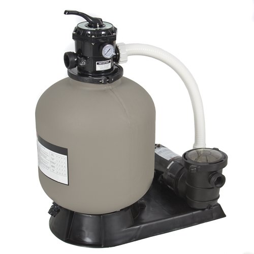 Best Choice Products Pro Above Ground Swimming Pool Pump System 4500GPH 19' Sand Filter w/ 1.0HP
