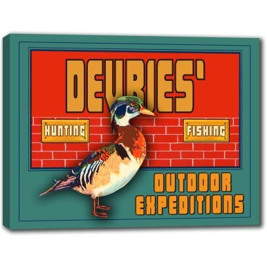 devries-outdoor-expeditions-stretched-canvas-sign-24-x-30