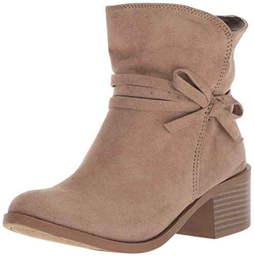 Nine West Girls' CYNDEES Mid Calf Boot, Taupe, M130 M US Little Kid