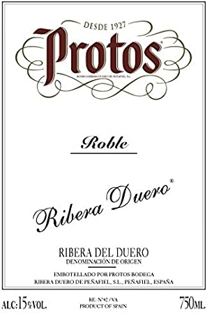 Protos Roble, Estuche Vino Tinto 2 botellas 75cl