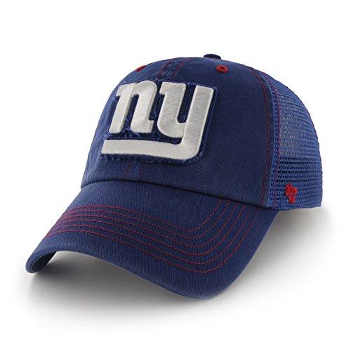 Football Stretch Hat (NFL New York Giants Flexbone Closer Stretch Fit Hat, Medium/Large, Royal)