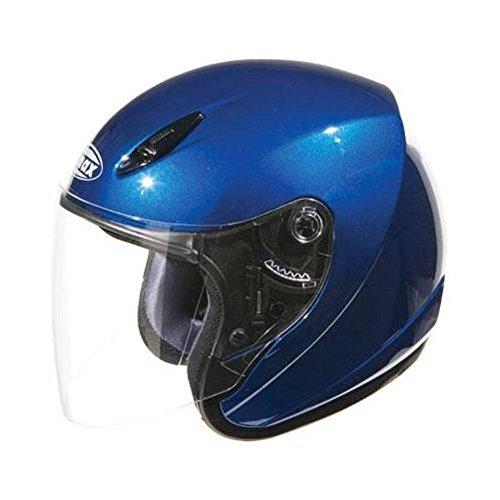 GMax GM17 Blue Open Face Helmet - X-Large - Gmax Gm17 Open Face Helmet