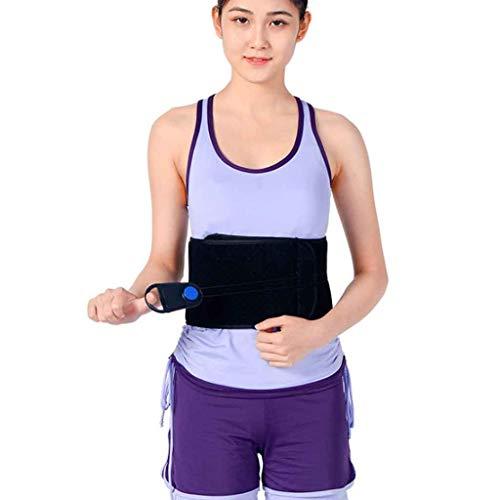 (ZHICHENG Pulley Lumbar Supports Belt, Lumbar intervertebral disc Waist, Lumbar Support, Middle-Aged and Elderly Care, Waist, Breathable (Size : XL))