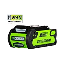 Greenworks 29462-RC G-MAX 40V 2 Ah Lithium-Ion Battery (Certified Refurbished)