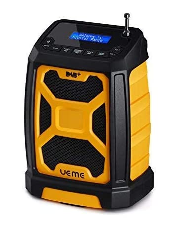 7121ce5cb06 Rugged DAB/FM Radio With Bluetooth and DAB+ License (Yellow/Black)