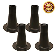 Tall Replacement Bed Frame Glide   Sturdy Cone Shaped Legs   Set of 4   Protect Your Floor by Changing Your Bed Wheels With These Bed Frame Feet