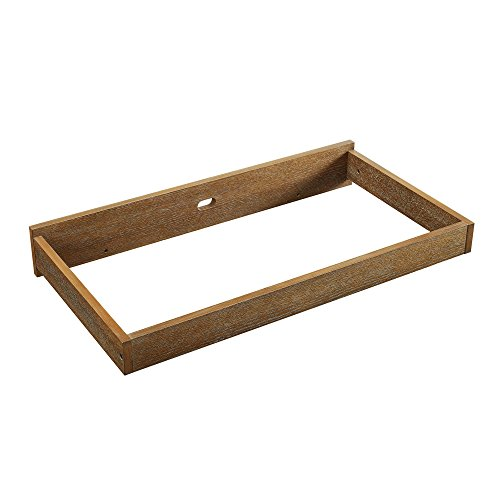 Baby Relax Hathaway Topper, Rustic Coffee by Baby Relax