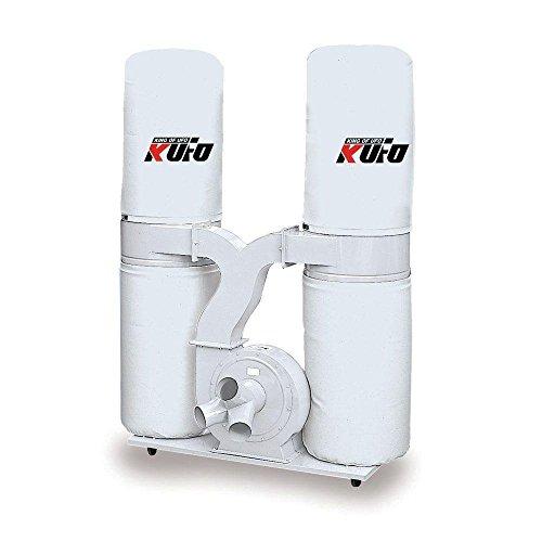 3 HP 2750 CFM 3 phase 220V / 440V Vertical Bag Dust Collector by Kufo Seco