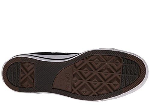 Mens C Taylor A / S Hi Sneakers (12 (uomo) / 14 (donna) Us, Nero)