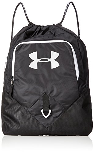 Under Armour Undeniable Unisex Sackpack, Black / White / Silver (001), One...