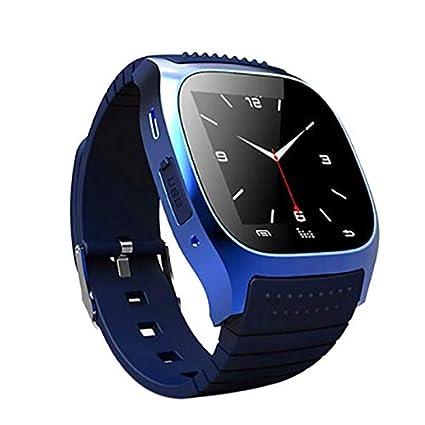 Amazon.com: TOOGOO Bluetooth Wrist Smart Horloge M26 ...