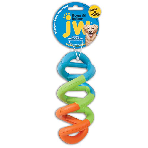 JW Pet Company Dogs iN Action Dog Toy, Large (Colors Vary)