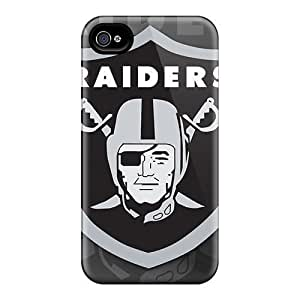 iphone 6 Hard Back With Bumper Silicone Gel Tpu Case Cover Oakland Raiders