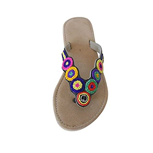 e3e49b68ad93 Kalra Creations Women s Traditional Indian Shoes Velvet With Sequence Work  Ethnic Flats well-wreapped