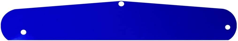 GG Grand General 30061 24 X 4 Inches Blue Plastic Backing Sheet for Freightliner Bottom Plate