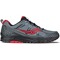 Saucony Grid Excursion TR10 Men's Footwear Synthetic (Grey/Black/Red)