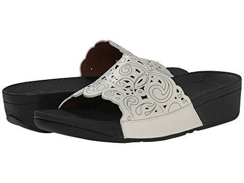 [FitFlop(フィットフロップ)] レディースサンダル靴 Flora Slide Urban White US 9 (26cm) M (B) [並行輸入品] US 9(26cm) M (B) Urban White B07HN88LXD