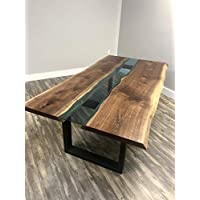 Live Edge Walnut River Dining Table