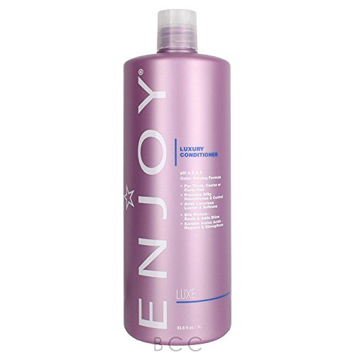 ENJOY Luxury Conditioner (33.8 OZ) - Smooth, Soft, Silky Hair Conditioner with Moisturizing Formula ()