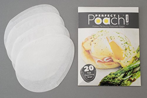 Tovolo 81-3538 Perfect Poach Egg Poaching Pouch