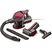 Shark Rocket Corded Ultra-Light Hand Vacuum for Carpet with TruePet Mini Motorized Brush and 15-foot Power Cord (HV292), Maroon