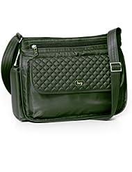 Lug Swivel Cross Body Bag, Olive Green, One Size