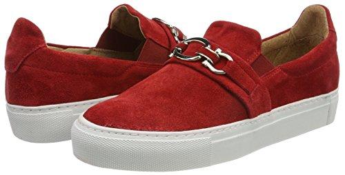 Frida red Pavement Zapatillas 075 Rojo Mujer Para a7dq1dF