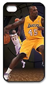 LZHCASE Personalized Protective Case for iPhone 4/4S - Derrick Caracter, NBA Los Angeles Lakers