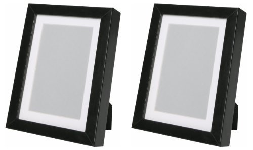Amazon Ikea Ribba 5x7 Picture Frame Black Set Of 2 Home