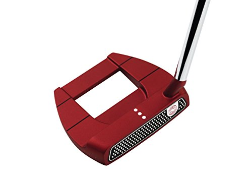 "Odyssey 2018 Red Putters, Jailbird Mini S, Superstroke Slim 2.0, 35"" Shaft, Right Hand"