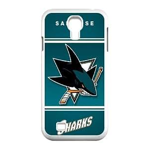 San Jose Shark Samsung Galaxy S4 9500 Cell Phone Case White Z0005141