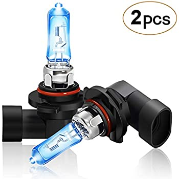 DZG 9012 Halogen Headlight Bulbs HIR2 5500K Warm White 12V 55W-2 Pack