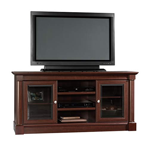 Sauder Palladia Entertainment Credenza, For TVs up to 60 , Select Cherry finish
