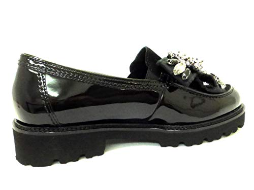 Schwarz Black Gabor 77 Loafers Fashion Women's fzfxqUB