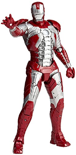 Marvel Iron Man Legacy of Revoltech Iron Man Mark V 6.3 Action Figure LR-024 (Iron Man 2 Mark V Action Figure)