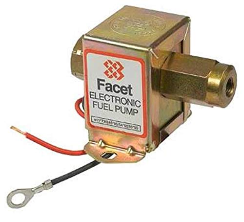 (NEW 12V FACET SOLID STATE FUEL PUMP FITS ALL CARBURETED ENGINES THERMO KING)