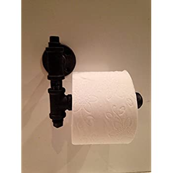 Amazon.com: Urban Industrial Decor Pipe Toilet Paper Holder ...