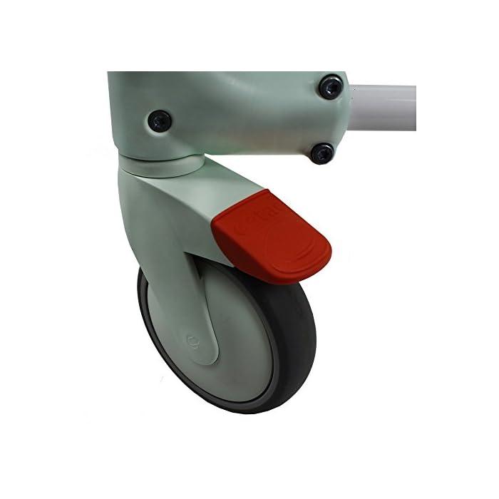 41I pa6N7lL CLEAN es lo último en diseño de sillas para la higiene. Cómoda, segura y fácil de usar. Cada detalle de la Silla de ducha y w.c. ha estado pensado para que cualquier situación sea de lo más fácil para el usuario y para el cuidador. Esta silla es apta para la ducha.