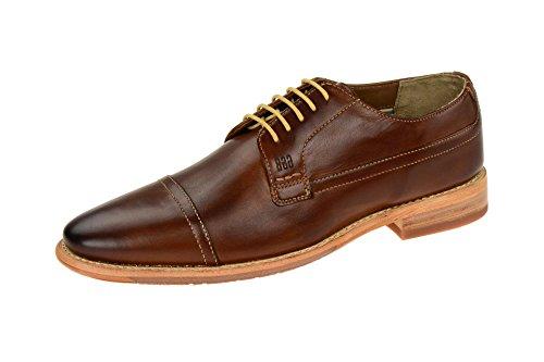 Gordon & BrosS160750 Brown - zapatos con cordones Hombre marrón