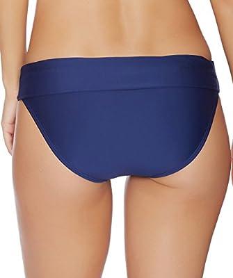 Splendid - Stitch Solid Banded Bikini Bottom Navy