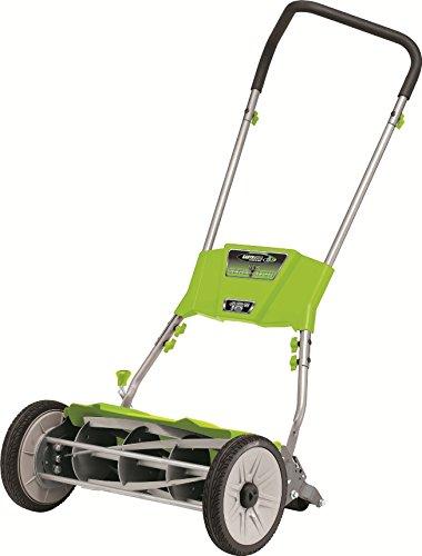 - Earthwise 515-18 18-Inch Quiet Cut Push Reel Lawn Mower
