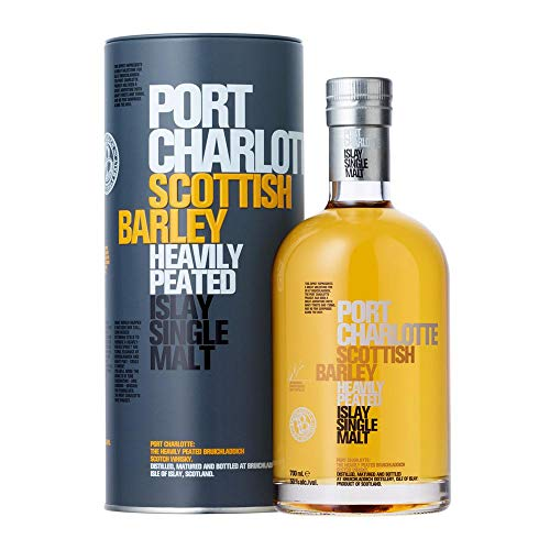 Whisky Single Malt Charlotte Scottish Barley Bruichladdich, 700ml