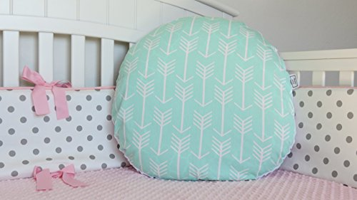 arrow-and-minky-newborn-lounger-pillow-cover-infant-lounger-pillow-cover-feeding-lounger-pillow-cove