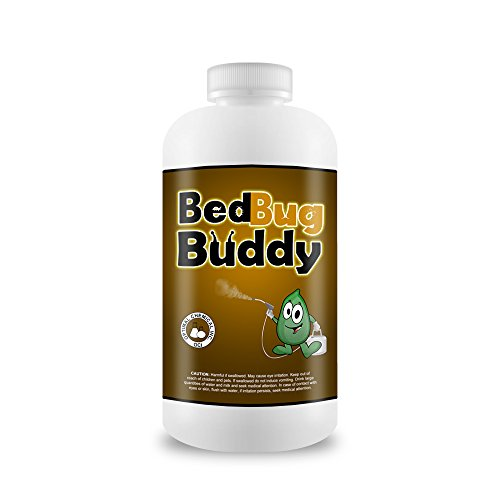 Bed Bug Killer and Preventer By Bed Bug Buddy - Natural 1 Time Bed Bug Treatment Used By Professionals - 100% Guaranteed - Fastest Working Bed Bug Spray - Child and Pet Safe - 4 oz